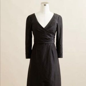 J.Crew Silk Taffeta dress